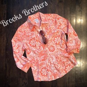 Brooks Brothers Floral Button Down Shirt